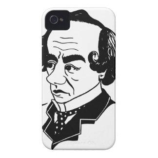 Caricature Benjamin Disraeli iPhone 4 Cases