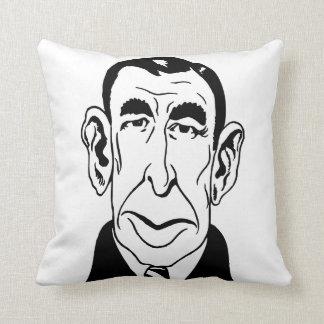 Caricature Booth Tarkington Throw Pillow