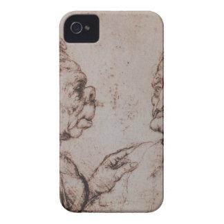 Caricature by Leonardo da Vinci iPhone 4 Case