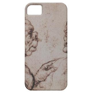 Caricature by Leonardo da Vinci iPhone SE/5/5s Case