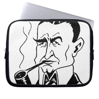 Caricature Charles Gates Dawes Laptop Sleeve