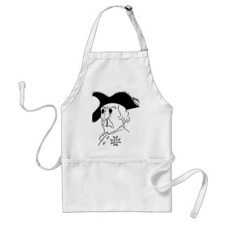 Caricature Frederick the Great Adult Apron