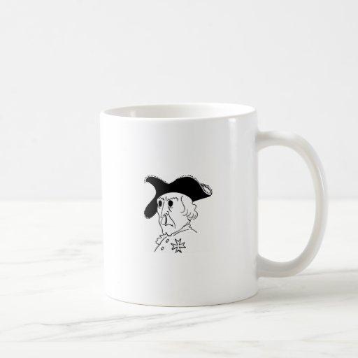 Caricature Frederick the Great Classic White Coffee Mug