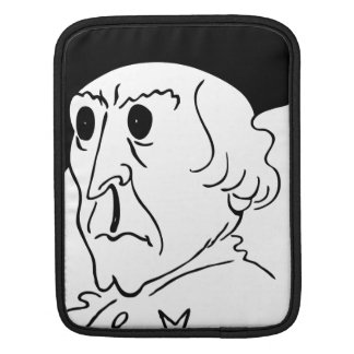 Caricature Frederick the Great iPad Sleeves