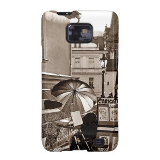 Caricature Galaxy SII Cases