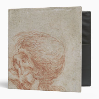 Caricature Head Study of an Old Man, c.1500-05 3 Ring Binder