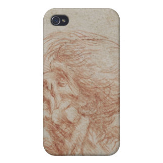 Caricature Head Study of an Old Man, c.1500-05 iPhone 4/4S Case