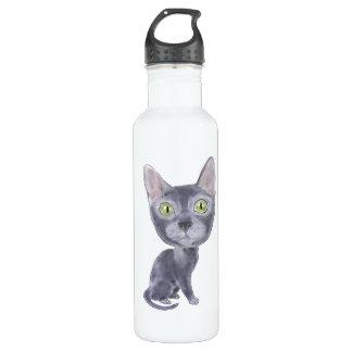 Caricature Korat 24oz Water Bottle