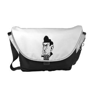 Caricature Marquis de Lafayette Messenger Bag