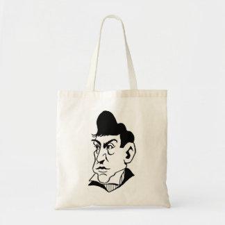Caricature Marquis de Lafayette Tote Bag