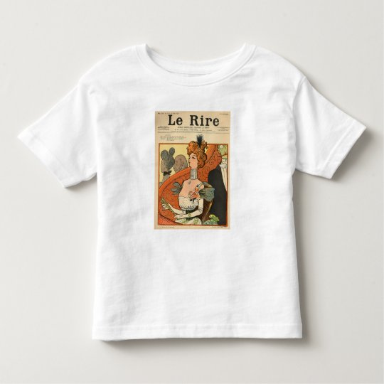 Caricature of a French Marquise Toddler T-shirt