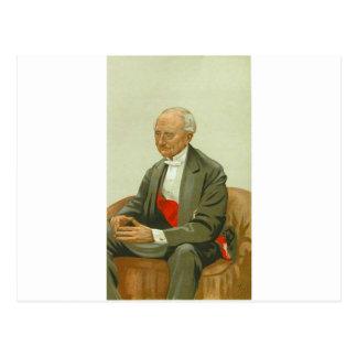 Caricature of Admiral Sir Hastings Reginald Postcard