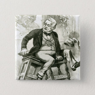 Caricature of Adolphe Thiers  between two Button