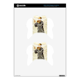 Caricature of Anthony John Mundella James Tissot Xbox 360 Controller Skin
