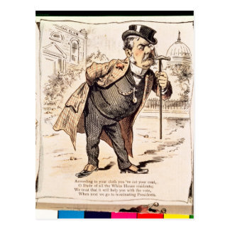 Caricature of Chester Alan Arthur, c.1883 Post Cards