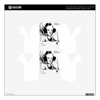 Caricature of Felix Mendelssohn by Aubrey Beardsle PS3 Controller Skin