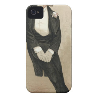 Caricature of Frederic Leighton by James Tissot Case-Mate iPhone 4 Case