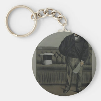 Caricature of George Cavendish Bentinck by James Keychain