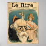 Caricature of Henri Brisson, Posters