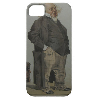Caricature of Henry Cole by James Tissot iPhone SE/5/5s Case