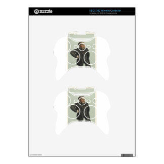 Caricature of John Pender by James Tissot Xbox 360 Controller Decal