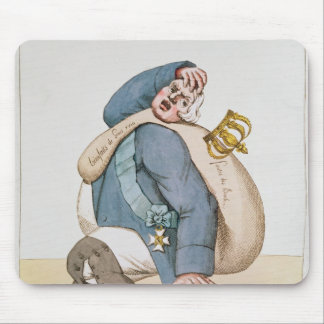 Caricature of Louis XVIII  1815 Mouse Pad