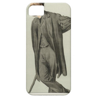 Caricature of Matthew Arnold by James Tissot iPhone SE/5/5s Case
