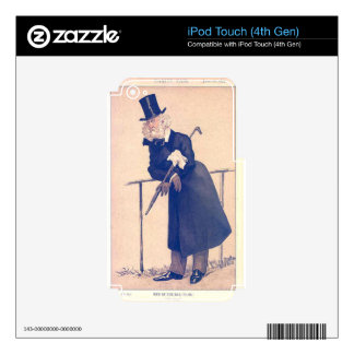 Caricature of Mr Washington Hibbert James Tissot Decals For iPod Touch 4G
