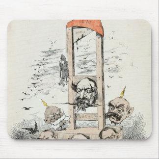 Caricature of Napoleon III  Otto Mouse Pad
