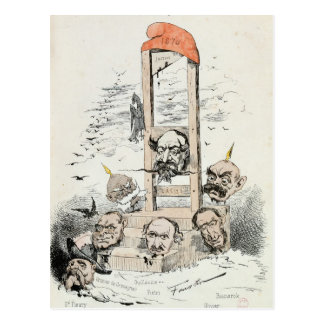 Caricature of Napoleon III  Otto Postcard