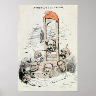Caricature of Napoleon III  Otto Poster