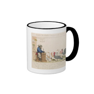Caricature of the Assembly of Notables Ringer Coffee Mug