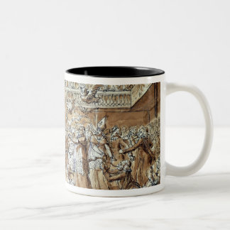 Caricature of the clergy mugs