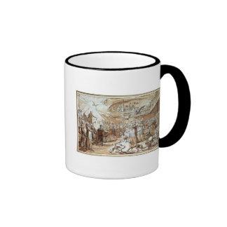 Caricature of the clergy mug