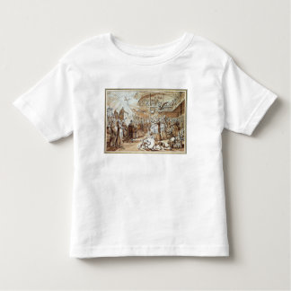 Caricature of the clergy toddler t-shirt