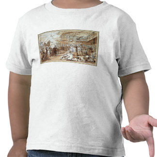 Caricature of the clergy tee shirt