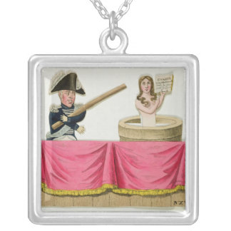 Caricature of the Constitutional Charter Custom Necklace