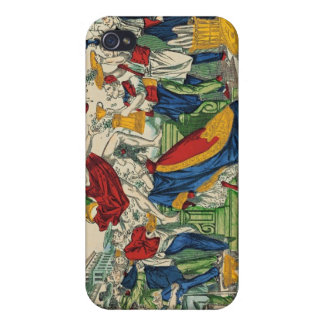 Caricature of the Demon of Money, 1860 iPhone 4 Case