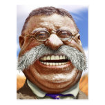 Caricature of Theodore Roosevelt Postcard