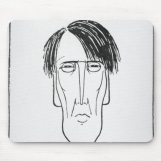 Caricature of W.B. Yeats, 1898 Mouse Pad