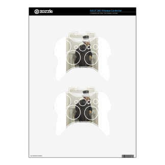 Caricature of William Henry Gregory by James Tisso Xbox 360 Controller Decal