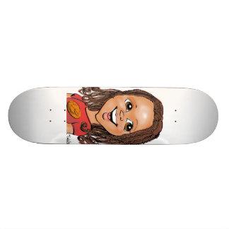 Caricature skateboards