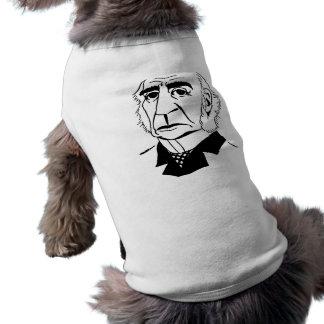 Caricature William Gladstone Pet Tshirt