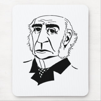 Caricature William Gladstone Mouse Pad