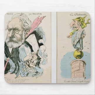 Caricatures of Victor Hugo  and Napoleon III Mouse Pad