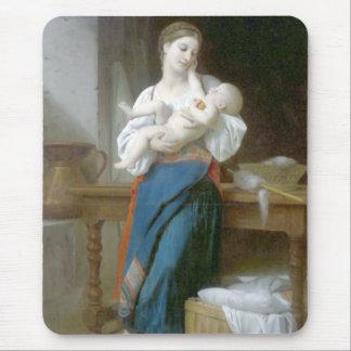 Caricias de Bouguereau - de Premières Alfombrilla De Ratón