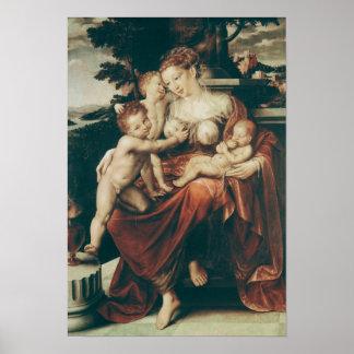 Caridad, 1544-58 impresiones