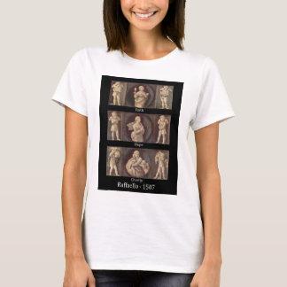 Caridad de la esperanza de la fe por la camiseta