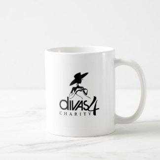 Caridad de las divas 4 tazas de café