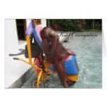 Caridad del orangután OFI de KiKi Tarjetas
